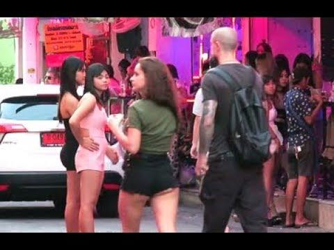 Ladies in Soi 6 Pattaya Thailand