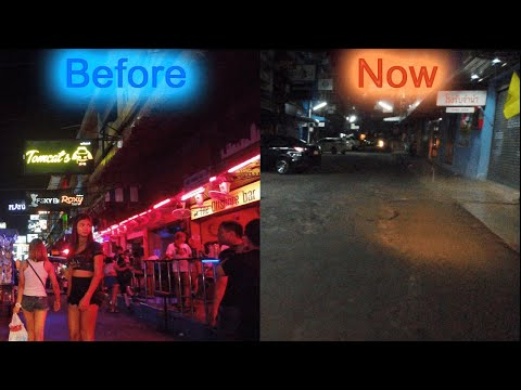 Then & Now! Soi 6 In Pattaya Sooner than & After The Lockdown.