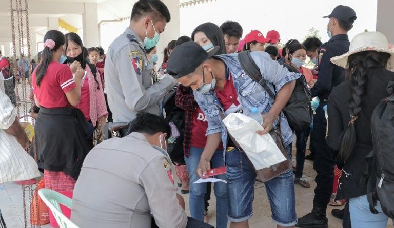Thailand Migrant employee exodus from Thailand over virus lockdown