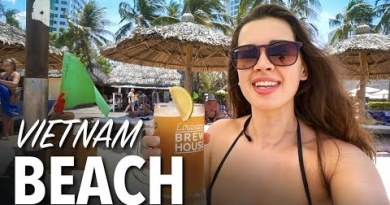 BEST BEACH IN VIETNAM – Nha Trang Seashore & Strolling Road