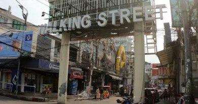 Pattaya's WALKING STREET Red Gentle District – Thailand Feb 2020
