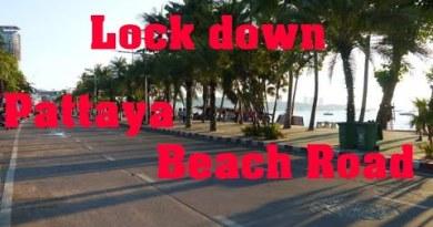 Pattaya-Seaside street to strolling avenue-lockdown