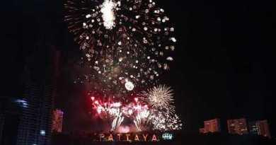 New Year 2018 Pattaya, Thailand