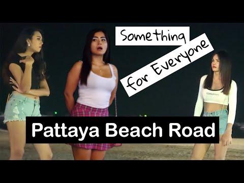 Pattaya Nightlife Sea streak Boulevard – Many Dazzling Freelancers Waiting