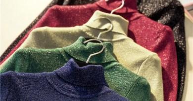 Autumn Winter Women Turtkeneck Sweater Long Sleeve High Elasticity Knitted Glitter Pullovers Slim Jumper Basic Female Sweaters