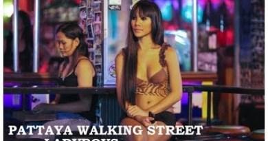 Pattaya Strolling Street Ladyboys & Freelancers     Pattaya Thailand
