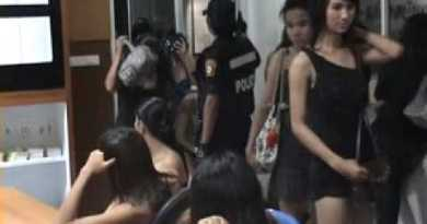 Roundup of Prostitutes on Pattaya Seaside – Operation Females Of The Evening Continues !