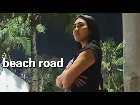 PATTAYA BEACH ROAD SCENES and FREELANCERS GIRL DRAMA