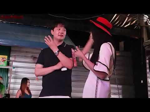 THAILAND PATTAYA WALKING STREET LADY OR LADY BOY