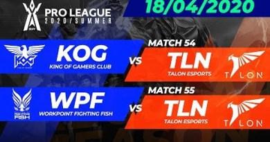 RoV Pro League 2020 Summer season | Week 8 Day 1