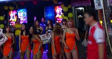 Pattaya Thailand Nightlife In Asia Strolling Side freeway