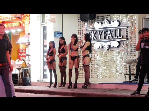 Pattaya Nightlife (FHD 60FPS) Busy Night time in Walking Road 2019 🇹🇭