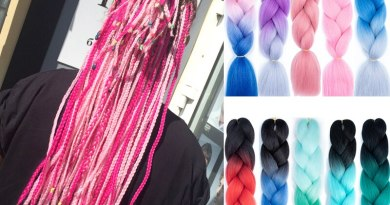 24inch Jumbo Braids Long Strands Ombre Crochet Braid Synthetic Braiding Hair Extensions for Woman Blonde Pink Kanekalon