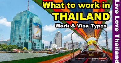 What to work in Thailand | Work & Visa Forms #livelovethailand