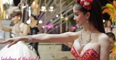 Ladyboy Cabaret Performers at Tiffany's, Pattaya Thailand