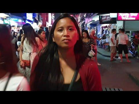 ( 4K ) PATTAYA strolling avenue and soi LK metro