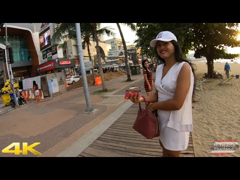 Pattaya Sea traipse Street and Freelancers #2 Part1 [4K]