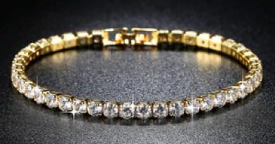 Trendy AAA Tennis Bracelet For Women Girls Luxury Micro Crystal Braslet Gold Silver Color Chain Bracelet&Bangles Jewelry Gift