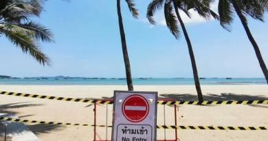 Pattaya Pattaya closes eight beaches