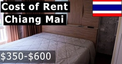 RENTAL PRICES in CHIANG MAI, Thailand!! (One Mattress room Apartments & Condos $350 – $600 for 2019)