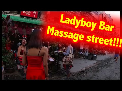 (GoPro)Pattaya Ladyboy rubdown avenue (soi Chaiyapoon) – 2018 Dec
