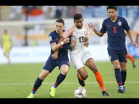 Thailand 1-4 India (AFC Asian Cup UAE 2019: Team Stage)