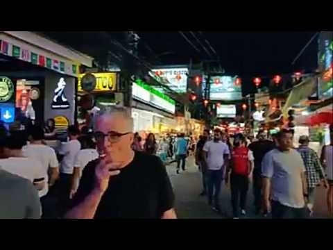 PATTAYA WALKING STREET BEFORE & AFTER LOCK DOWN HEARTBREAKING FOOTAGE
