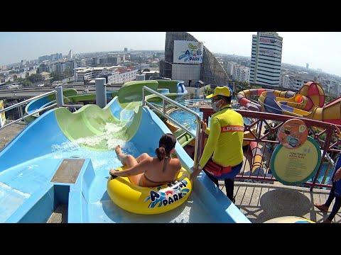 Pororo Aqua Park in Bangkok, Thailand