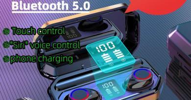 Новые оригинальные TWS Bluetooth 5,0 наушники беспроводные HiFi наушники спортивные водонепроницаемые IPX5 гарнитура наушники с микрофоном Xiangxing