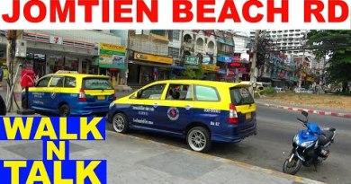 JOMTIEN BEACH RD WALK N TALK PATTAYA THAILAND
