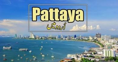 Pattaya Thailand Budge VLOG | Pattaya Tour Files in Urdu/Hindi