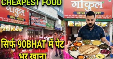 CHEAPEST INDIAN FOOD IN PATTAYA | GOKUL CHAI-NASTHA | PURE INDIAN VEGETARIAN FOOD OUTLETS