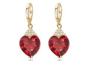Xuping Fashion Luxury Earrings for Women Synthetic Cubic Zirconia Eardrops Jewelry Valentine's Day Gift S53-27656
