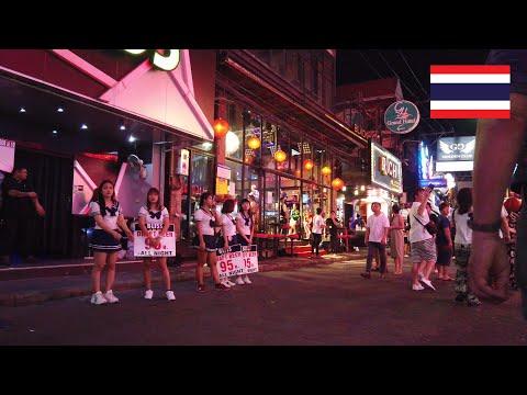 A stroll on Walking Facet toll road, Pattaya, Thailand