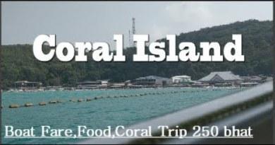 Coral Island | Most Modern Beach | Pattaya City Part-3 Bangkok sequence