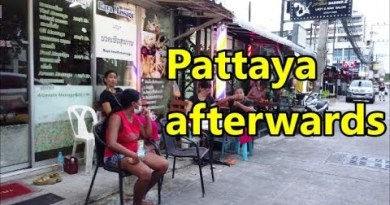The Time after in Pattaya, Thailand