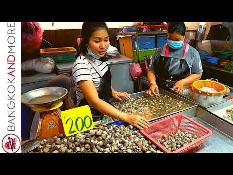 Going To The Fish And Seafood Market | PATTAYA THAILAND