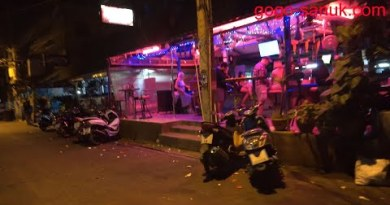 Late Night time Beach Facet road Soi7 and Soi8 – Pattaya, February 2020