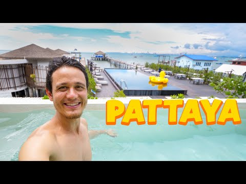 AMAZING POOL ROOM Resort in Pattaya!! 🇹🇭 Thailand Tourism Re-Opening!