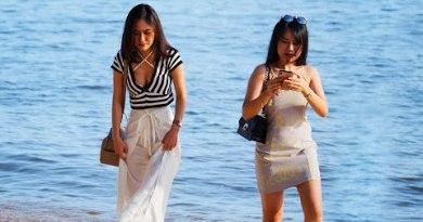 Daylight Scenes at Pattaya Jomtien Seashore, June 18th 2020