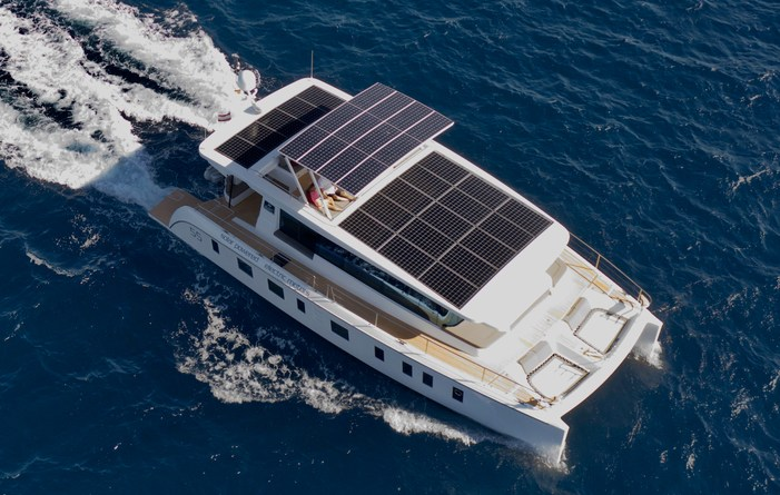 """Pattaya Tranquil-Yachts Sells Four Photo voltaic-Electrical Catamarans in """"Top of Disaster"""""""
