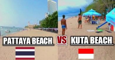 INDONESIA BALI KUTA BEACH Vs PATTAYA BEACH THAILAND | World's High Favourite Sights bound vlog