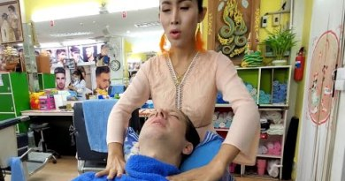 "💈MUSTACHE REMOVAL by Feminine Barber ""Nin"" 🇹🇭 Pattaya Thailand"