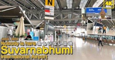 Nobody is here! Suvarnabhumi World Airport / June 2020 (BANGKOK , THAILAND)
