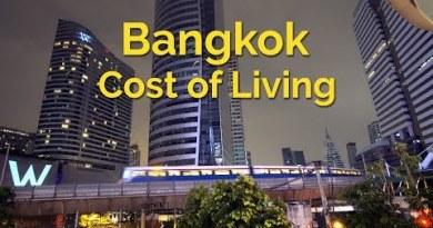 Bangkok – Cost of Residing – Residing in Thailand