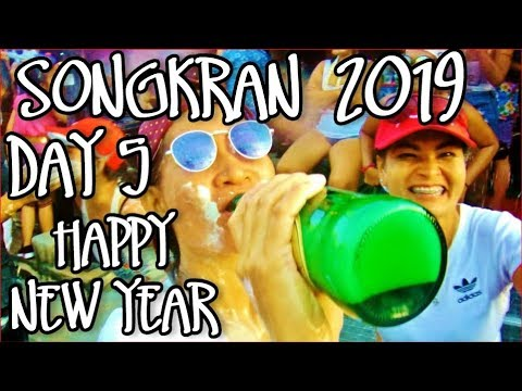 SONGKRAN 2019 PATTAYA BEACH ROAD THAILAND-THE BEST WATER FESTIVAL EVER-BOOK A FLIGHT/HOTEL ITS FUN