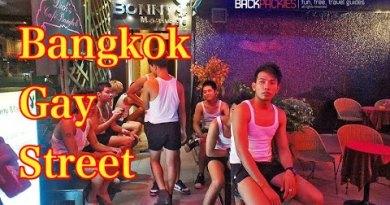 Bangkok Contented Street Bar Nightlife In Patpong