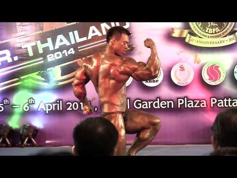 Mr Thailand 2014 (85kg+) – Wuttichai Sarngtula (Overall Champion)