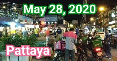 Pattaya Soi Buakhao has extra people than ever. Can also simply 28, 2020