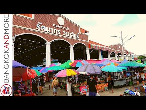 PATTAYA | Morning Market In Thailand
